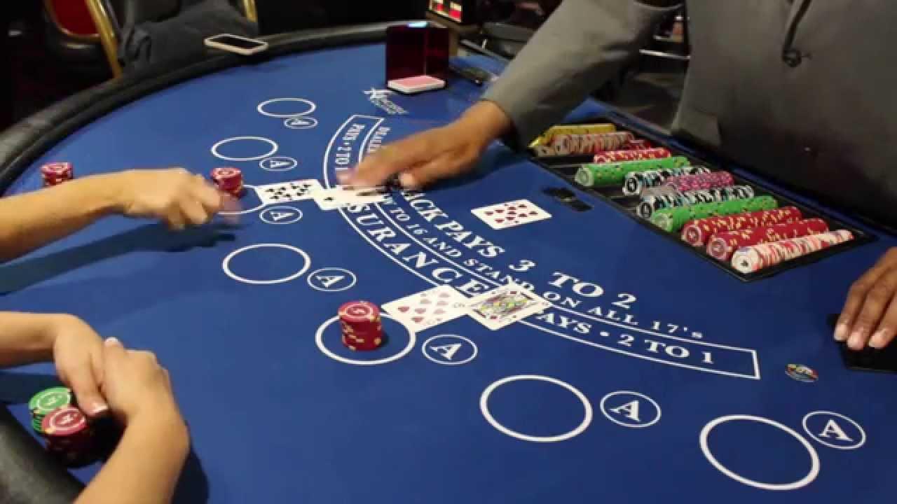 Live Online Blackjack Tables